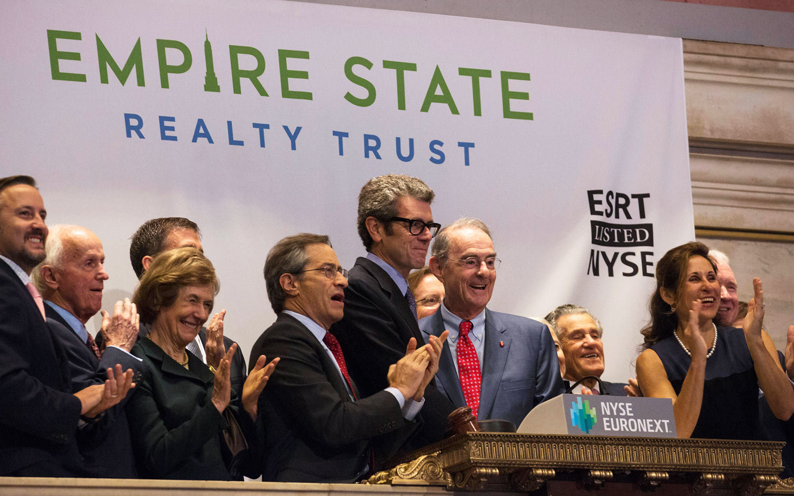 Chairman, CEO and President Anthony Malkin and Chairman Emeritus Peter Malkin of Empire State Realty Trust