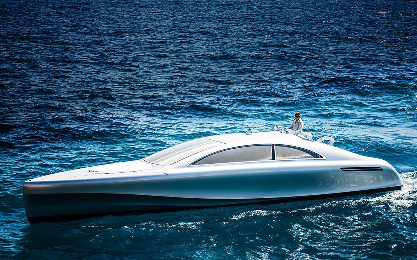 Mercedes created a luxurious $1.7 million yacht that only 10 people in the world will be able to buy