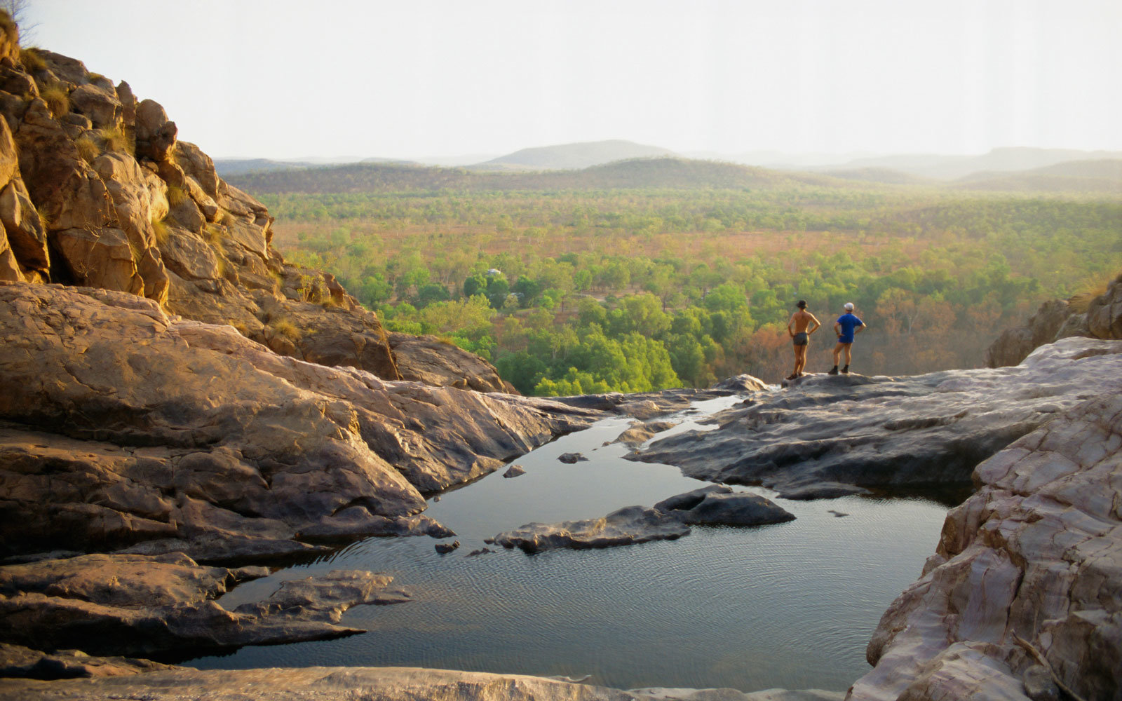 Gunlom Falls, in Kakadu National Park in Australia's Northern Territory.