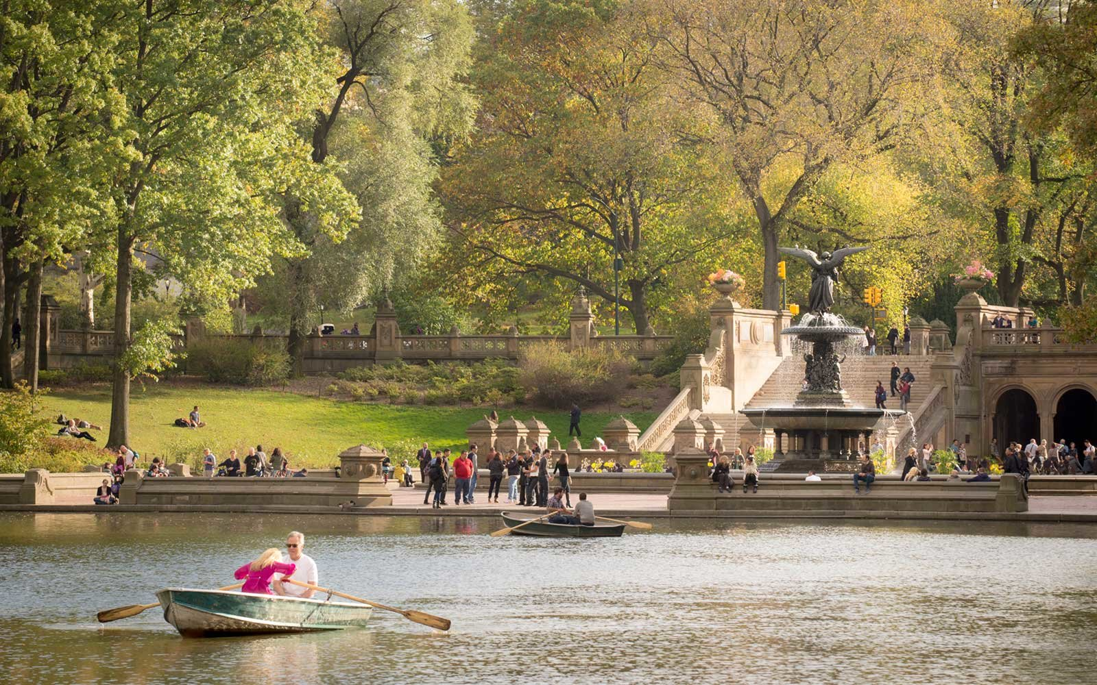 Bethesda Fountain and Terrace, Central Park, New York City