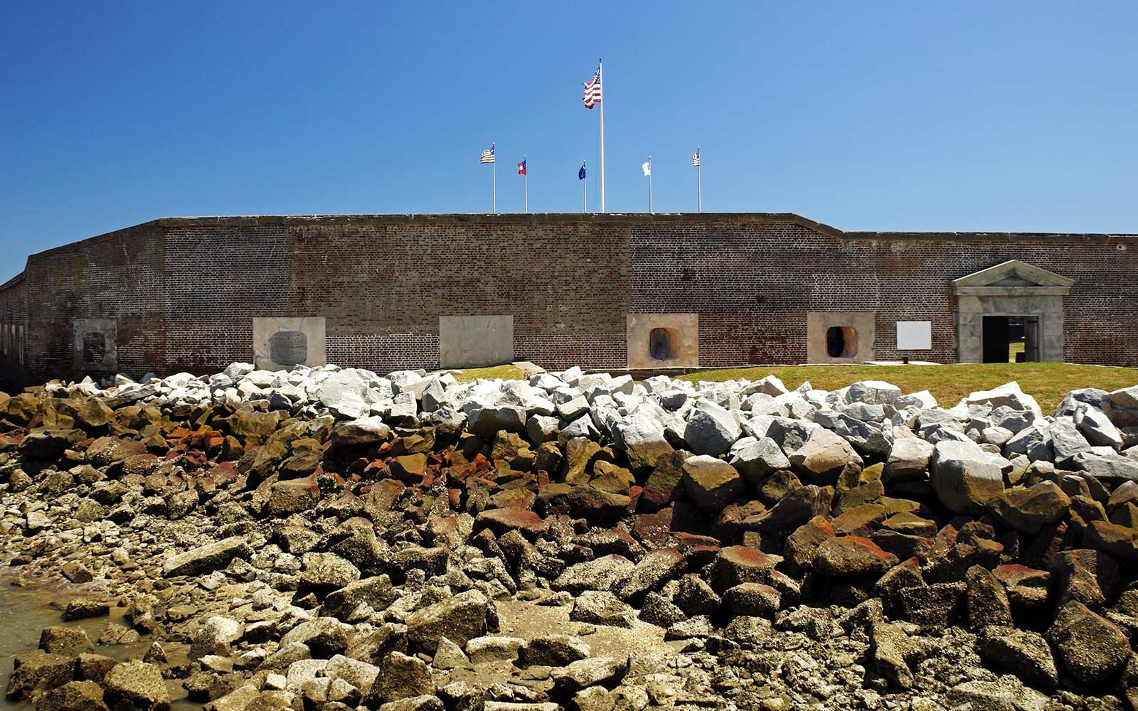 No. 2 Fort Sumter National Monument in Charleston