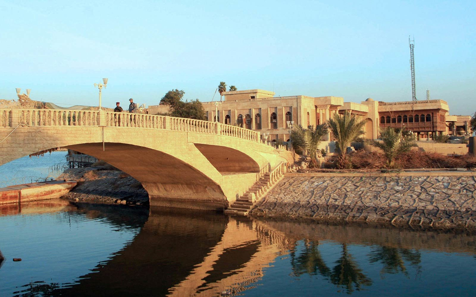 Basra Museum Opens in Husseins Old Palace