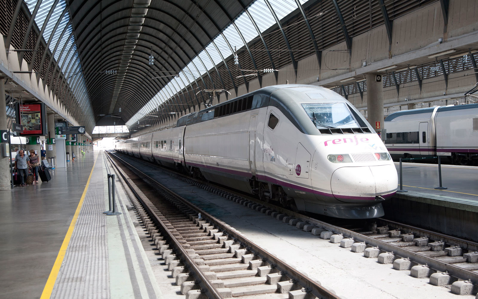 Spain is adding Wi-Fi to high-speed trains.