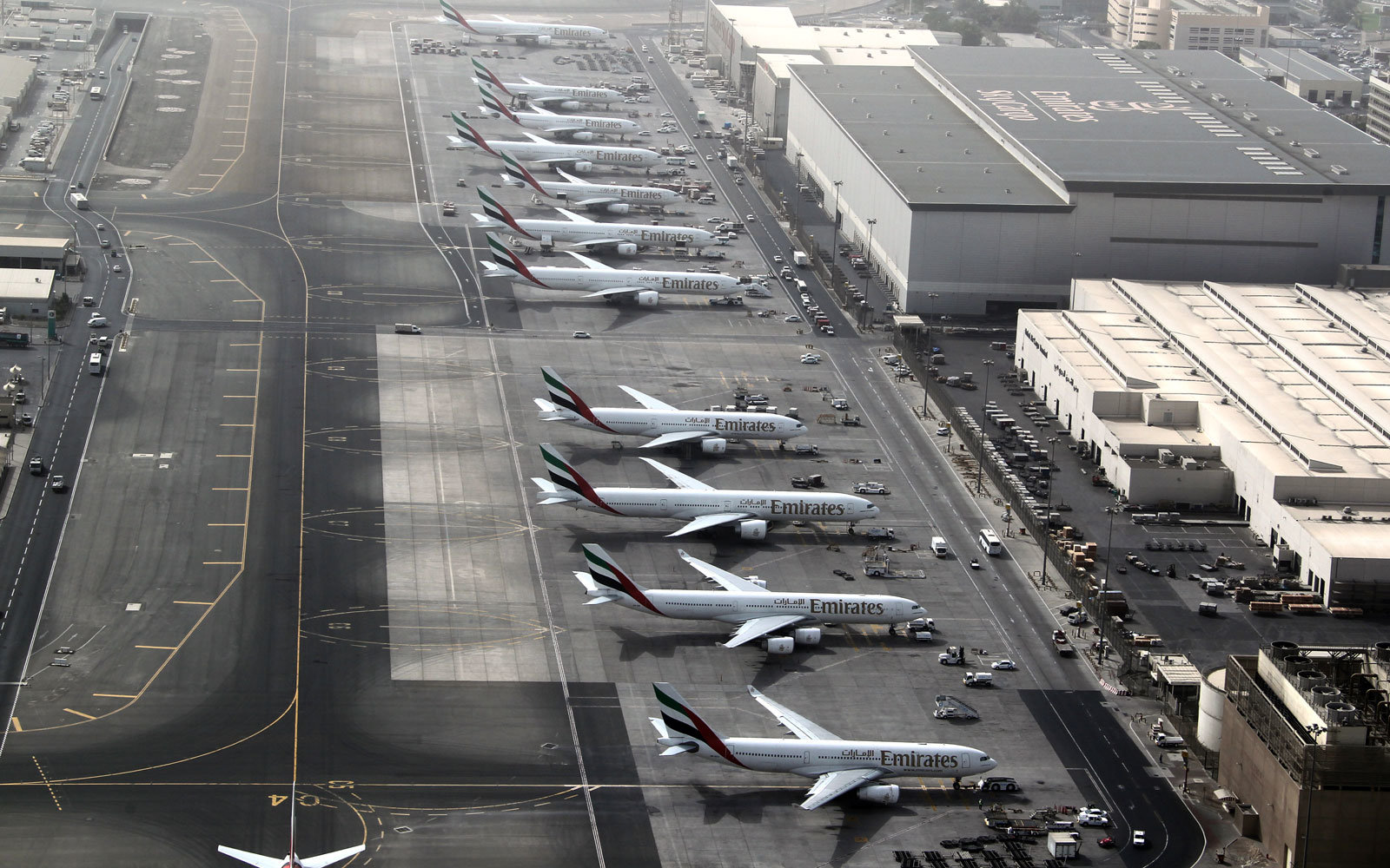 Dubai's airport is fighting back against drones.