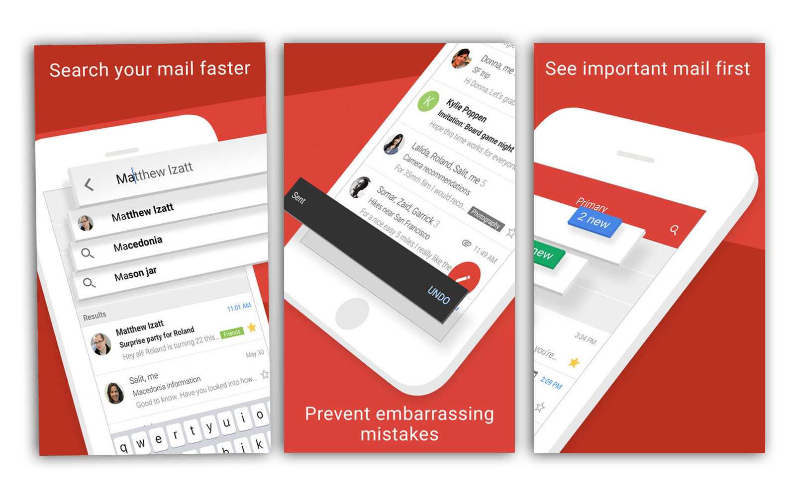 Gmail adds undo send on IOS app