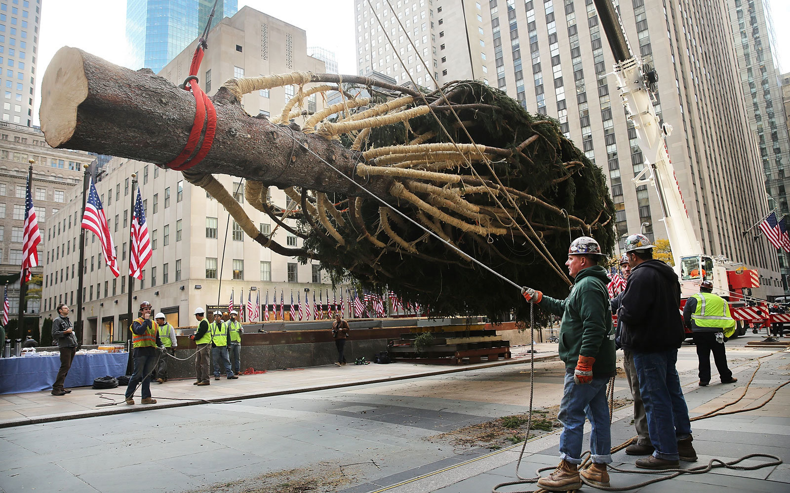 Where the Rockefeller Center Christmas Tree Comes From | Travel + ...