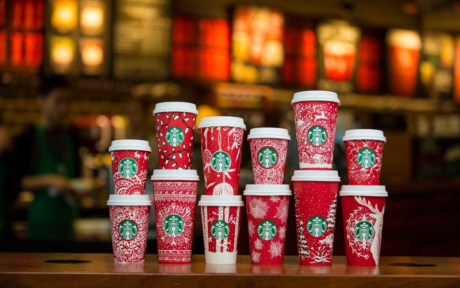 Starbucks Red Holiday Cup