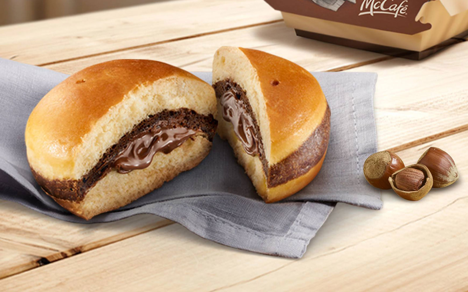 Nutella. In a burger.