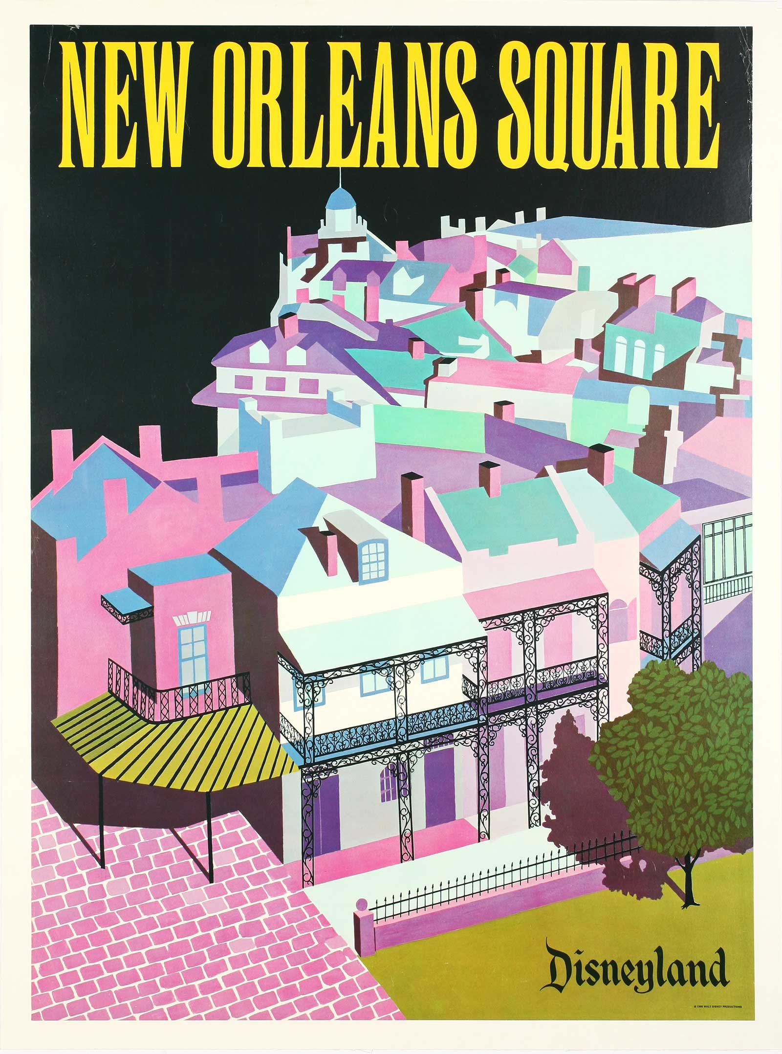 See Gorgeous Vintage Disneyland Posters From the Park's Early Years