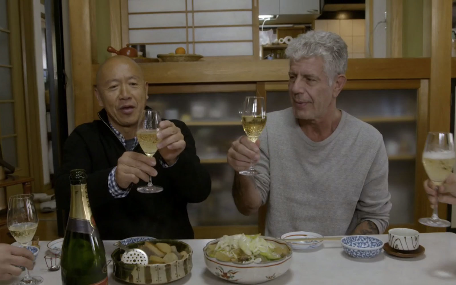 Bourdain heads to Tokyo on Parts Unknown.