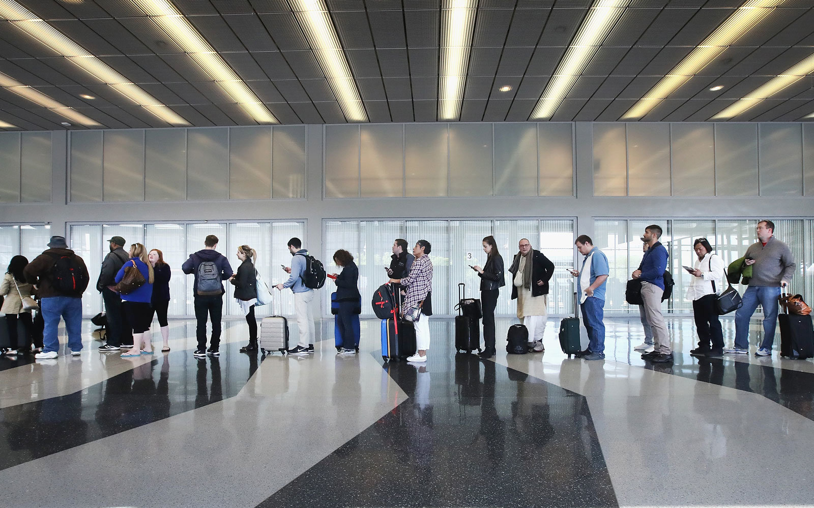 Automated security lines will be tested at Chicago O'Hare.
