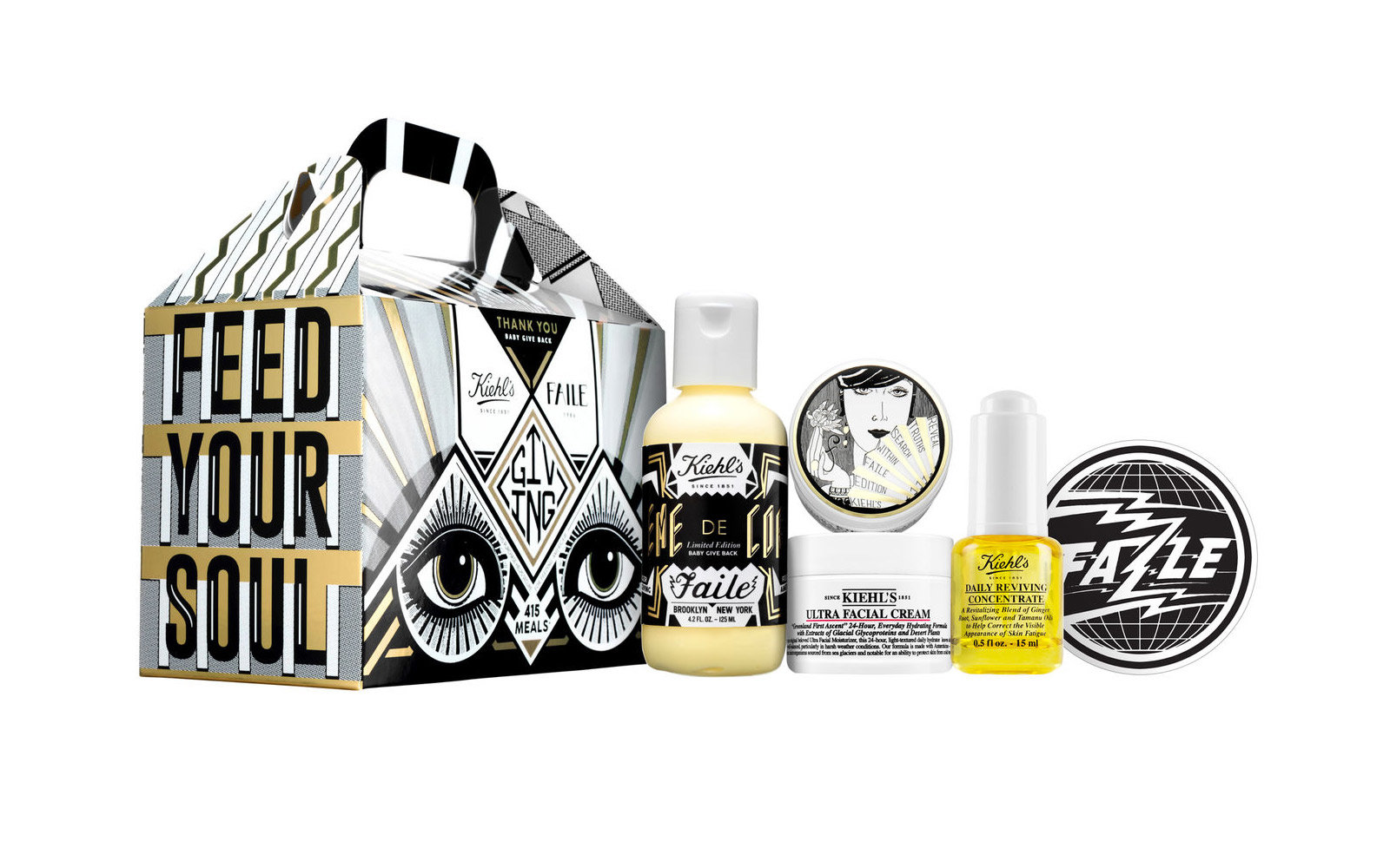 Kiehl's Since 1851 x Faile Collection For a Cause