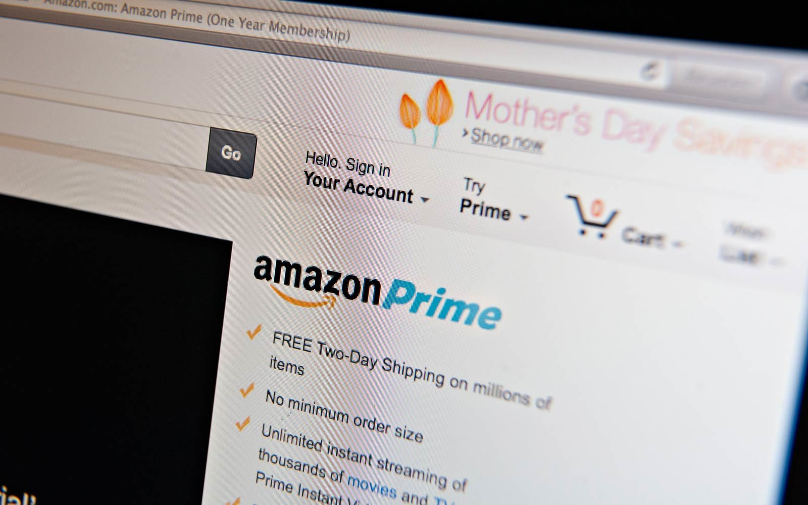 Amazon Will Drop the Price of Prime for One Day Only
