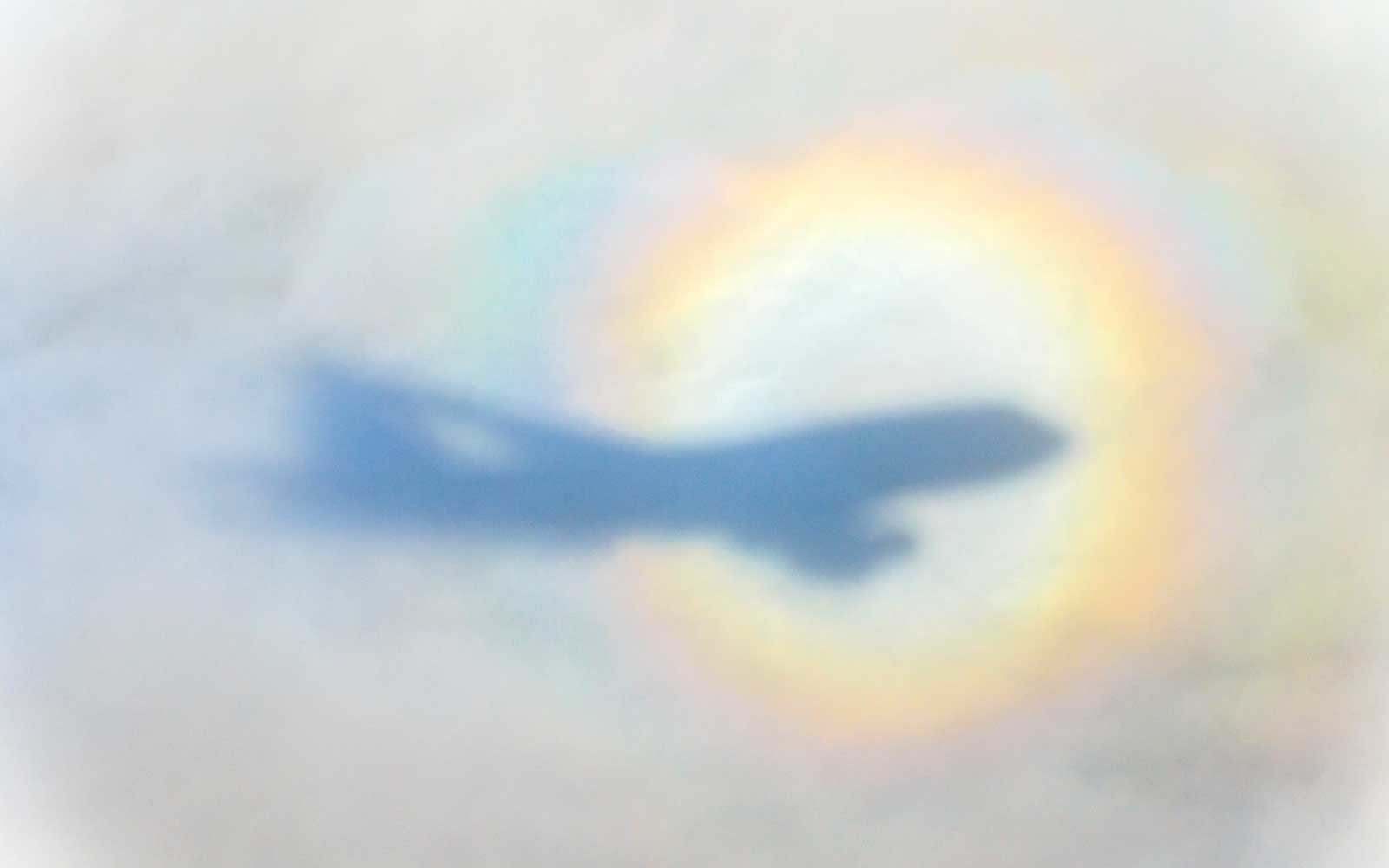 Airplane Rainbow Circle