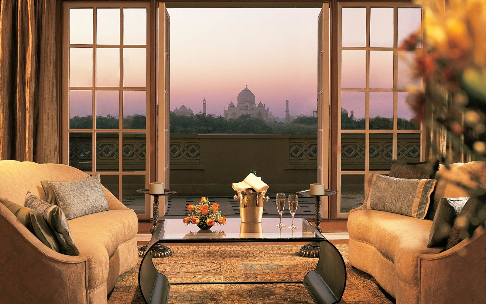 The Oberoi Amarvilas in Agra,  India
