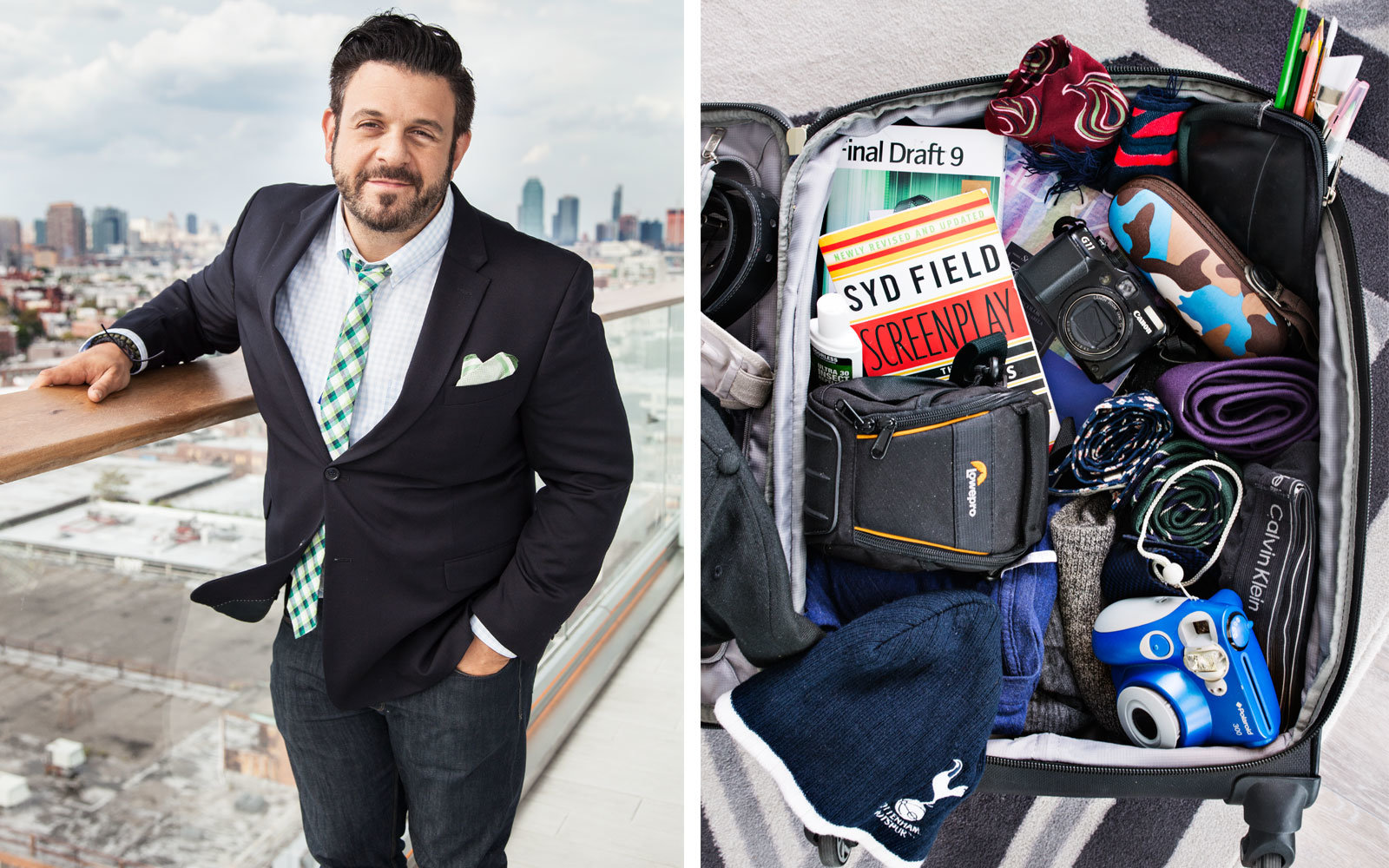 T + L Carry On with Adam Richman