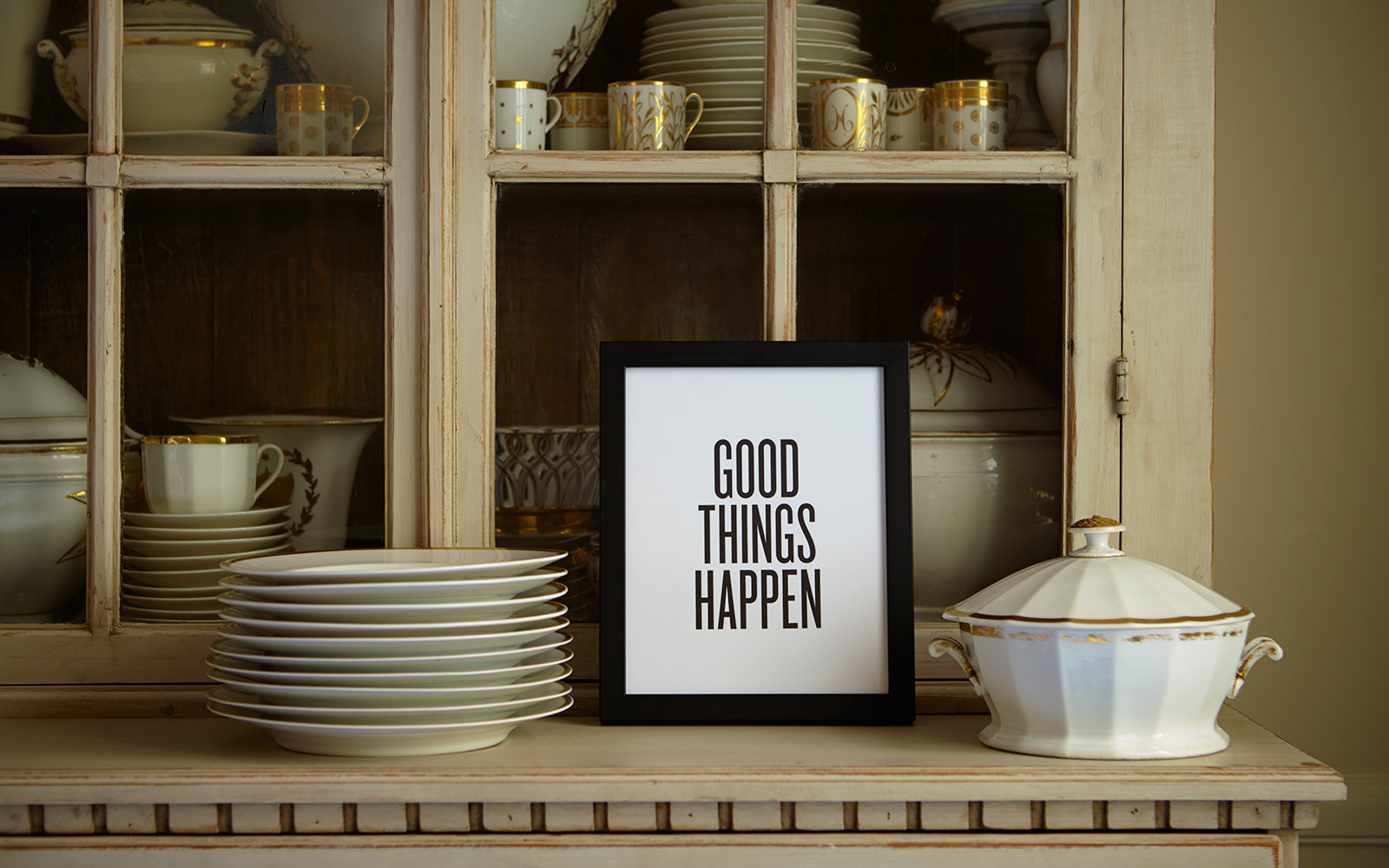 Good Things Happen Print