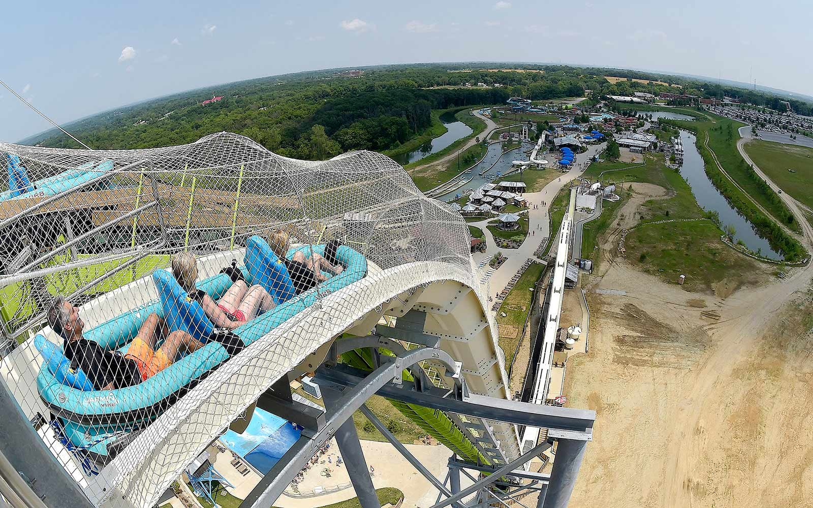 Verrückt water slide closing