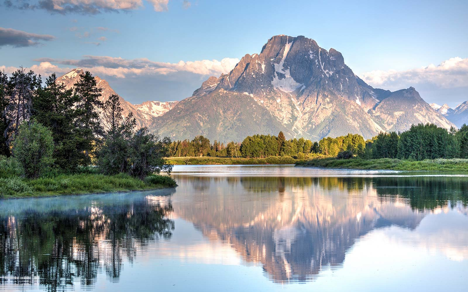 Mount Moran, Oxbow Bend Turnout, Grand Teton National Park, Wyoming