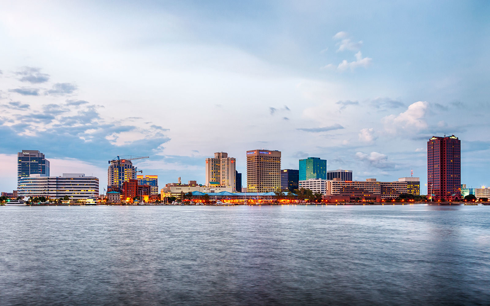 Downtown Norfolk, Virginia