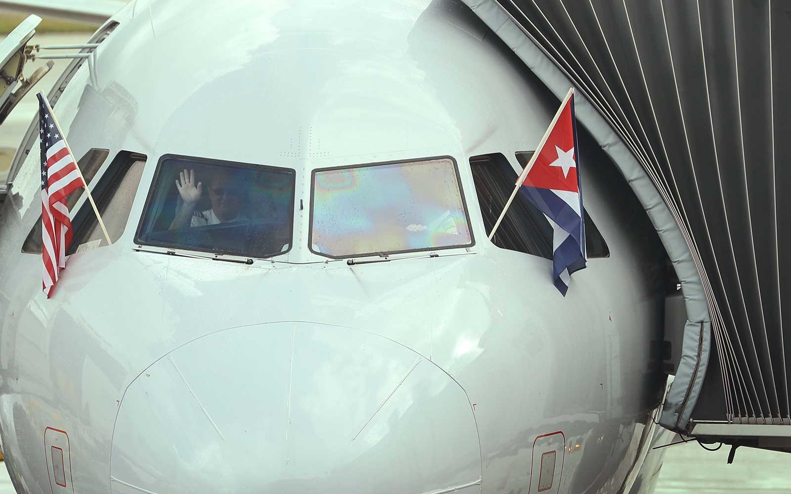 First Miami to Cuba Flight