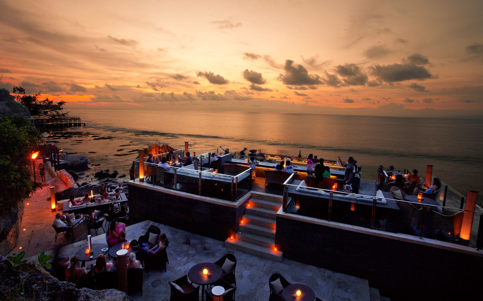 Rock Bar in Bali,  Indonesia