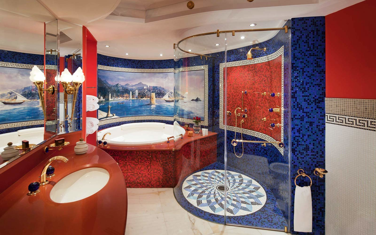 These hotels have the best luxury toiletries travel for Dubai burj al arab rooms