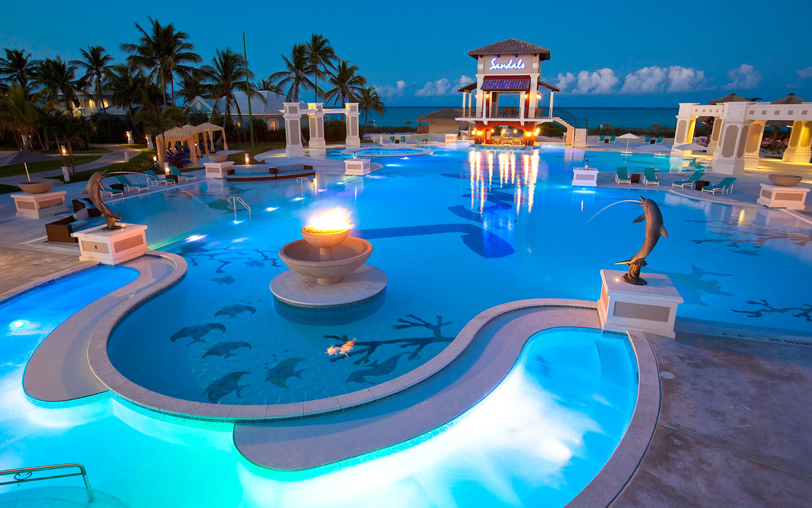 Sandals Emerald Bay in the Exumas