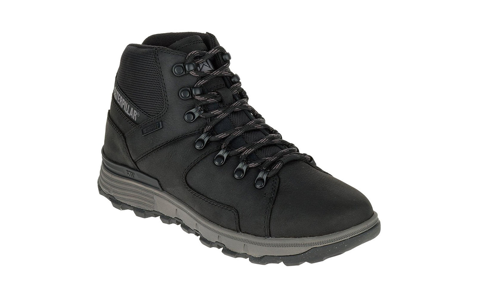 Caterpillar Men's Stiction Hiker Ice+ WP Leather Work Boots
