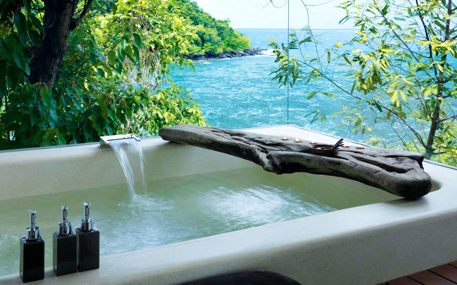 Song Saa Private Island Cambodia Bathtub