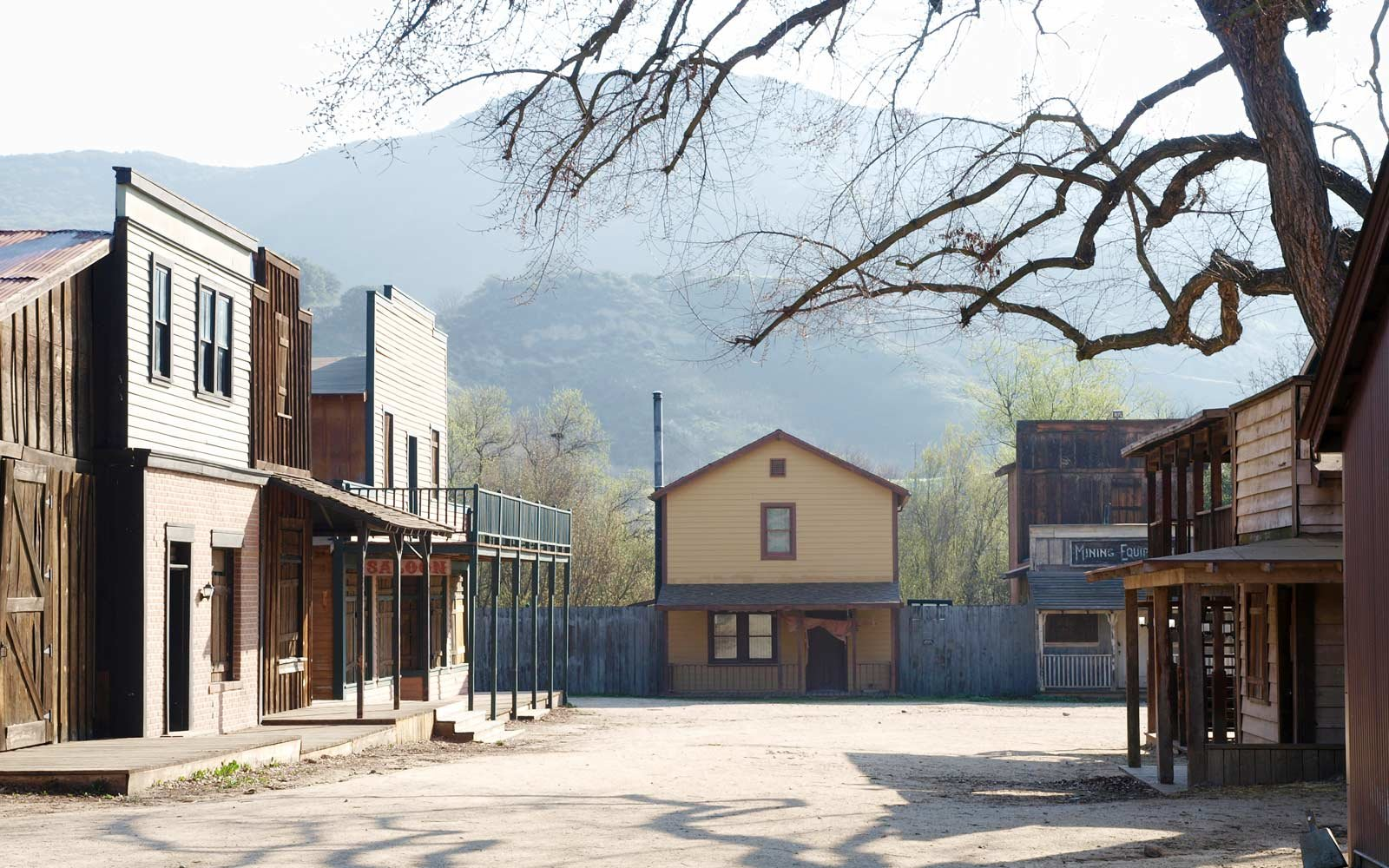 Paramount Ranch in Newhall, California