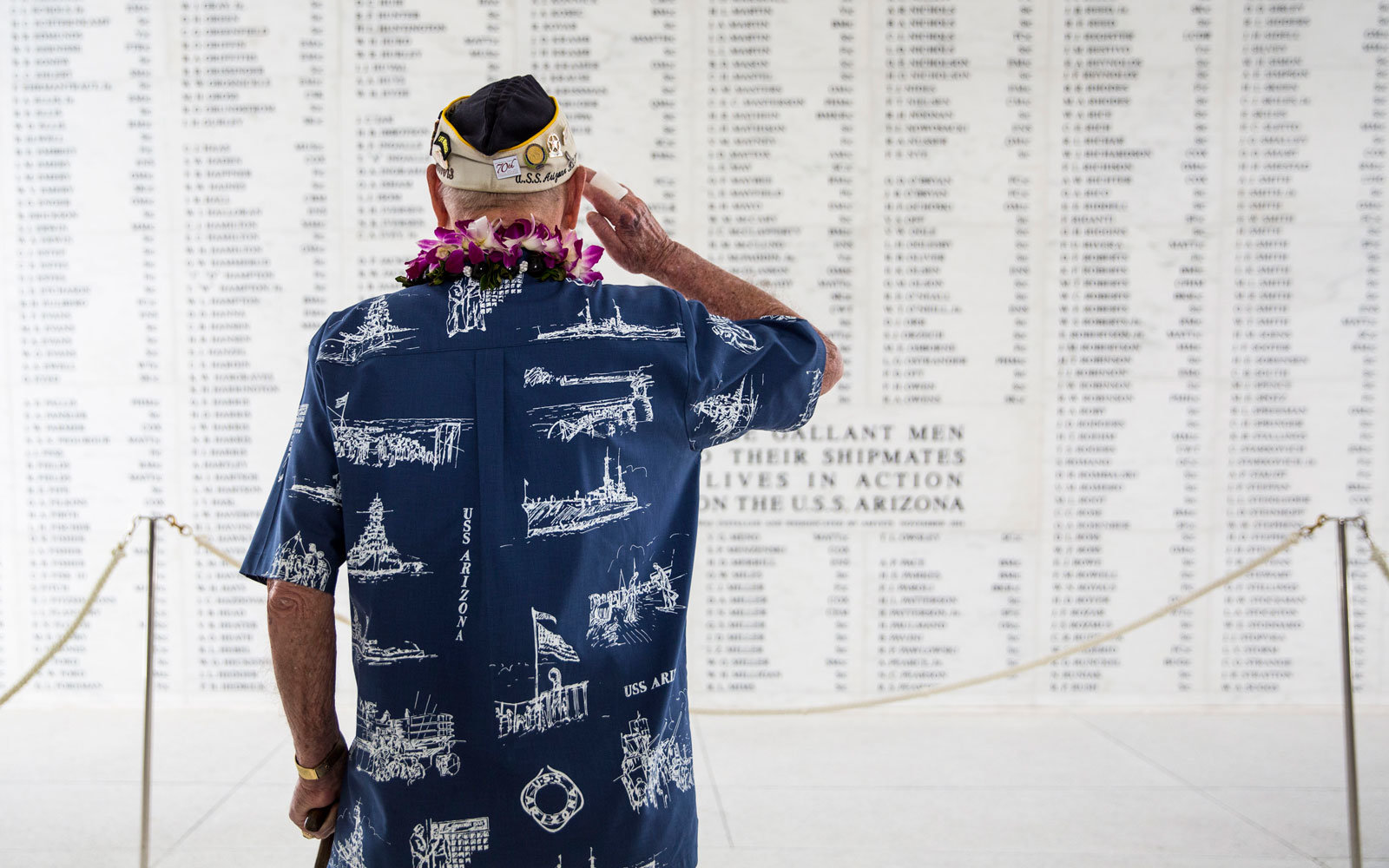 Pearl Harbor veteran
