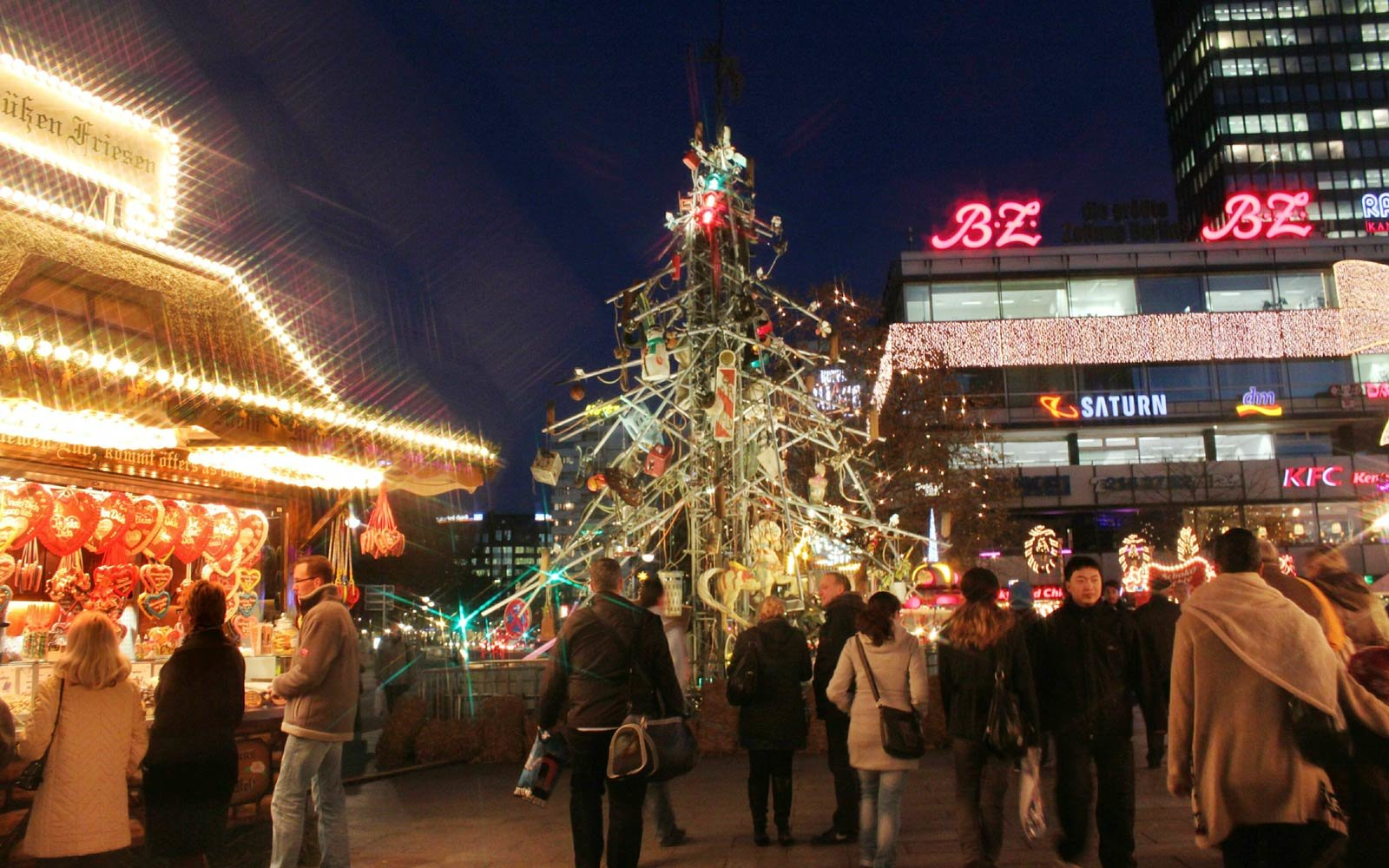 The Traffic Tree in Berlin,  Germany