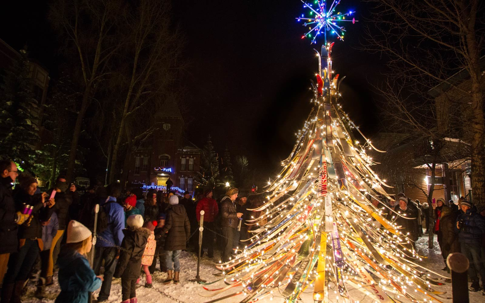 Pictures Of Christmas Trees the weirdest christmas trees in the world | travel + leisure