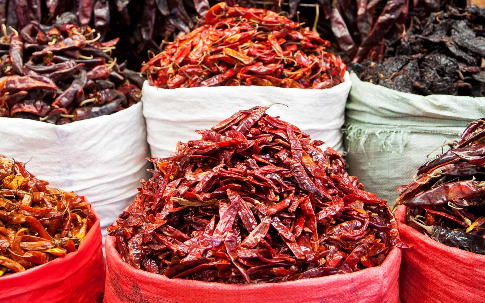 Chiles in Oaxaca