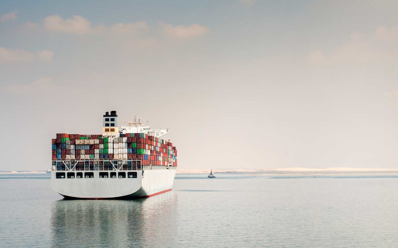 Traveling World On Container Ships