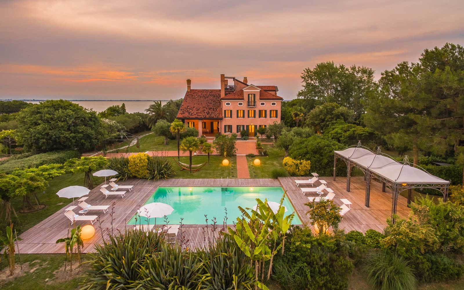 An Inside Look at the Swarovski Family's Private Island Retreat in Venice