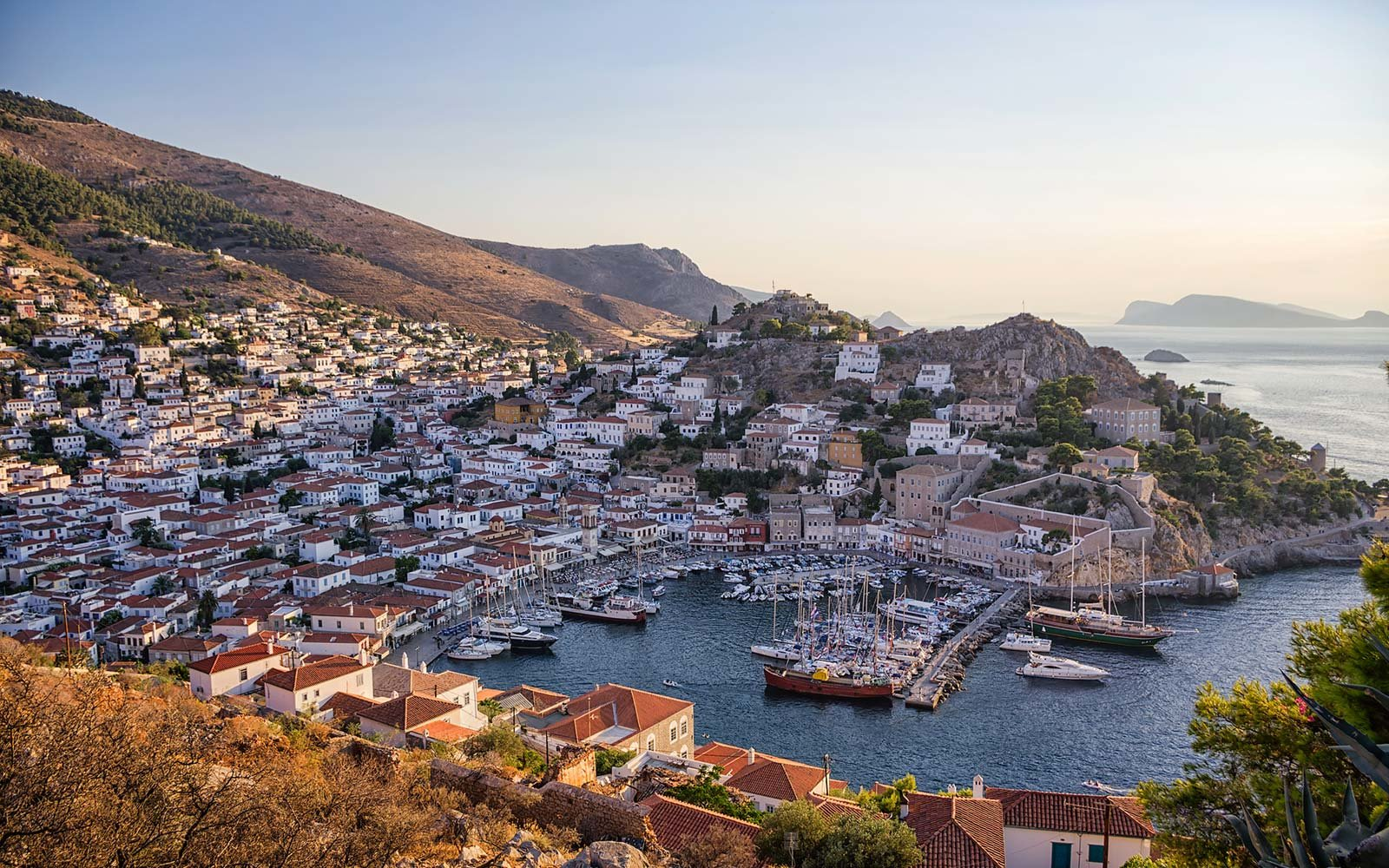 Hydra island, Saronic Gulf Islands, Greece
