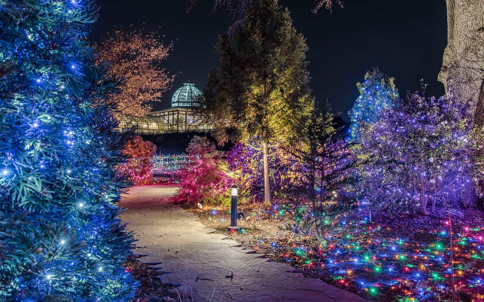 America's Favorite Cities for Christmas Lights 2016 | Travel + Leisure