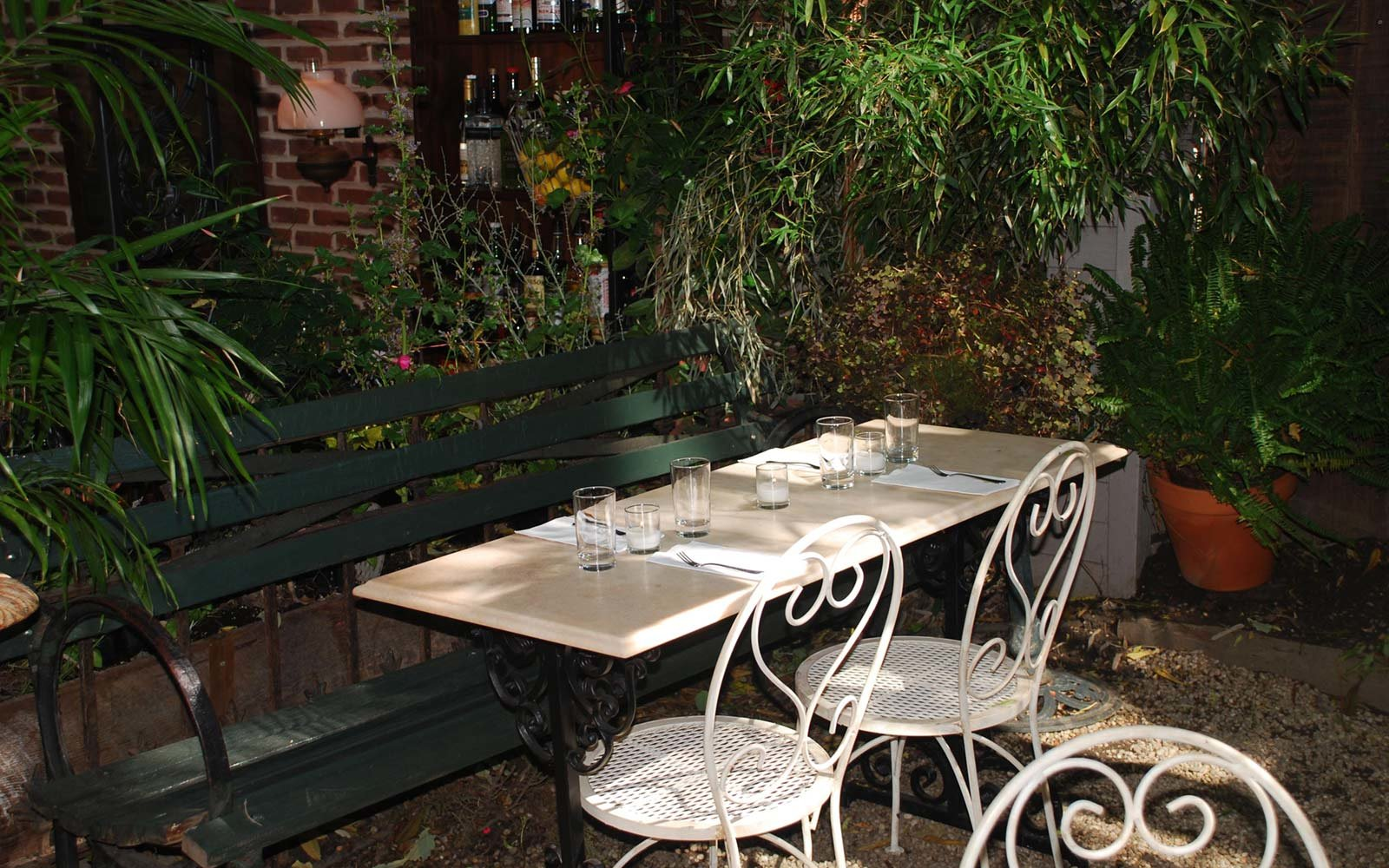 the best outdoor happy hours in new york city travel leisure