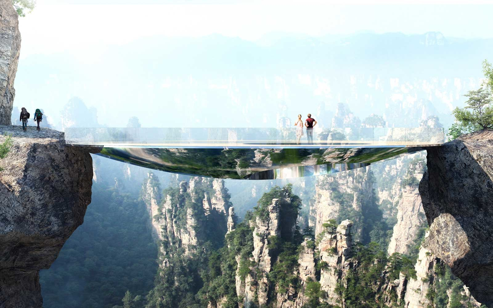 China's Mirror Bridge