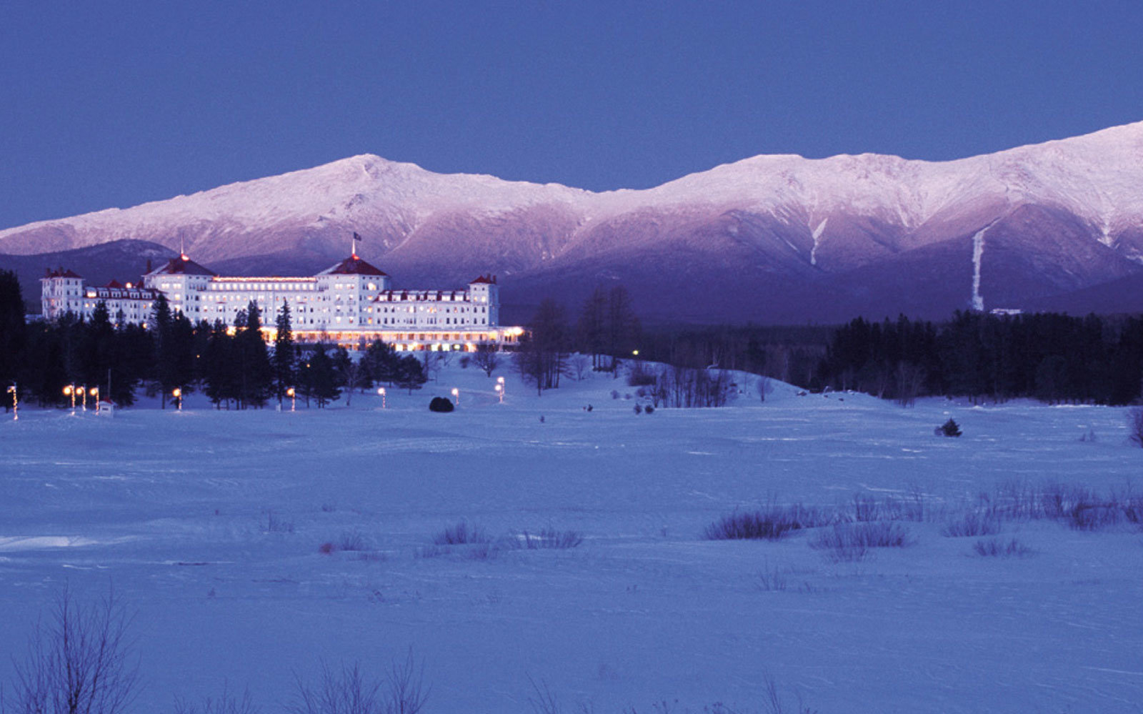 6. Bretton Woods,  New Hampshire