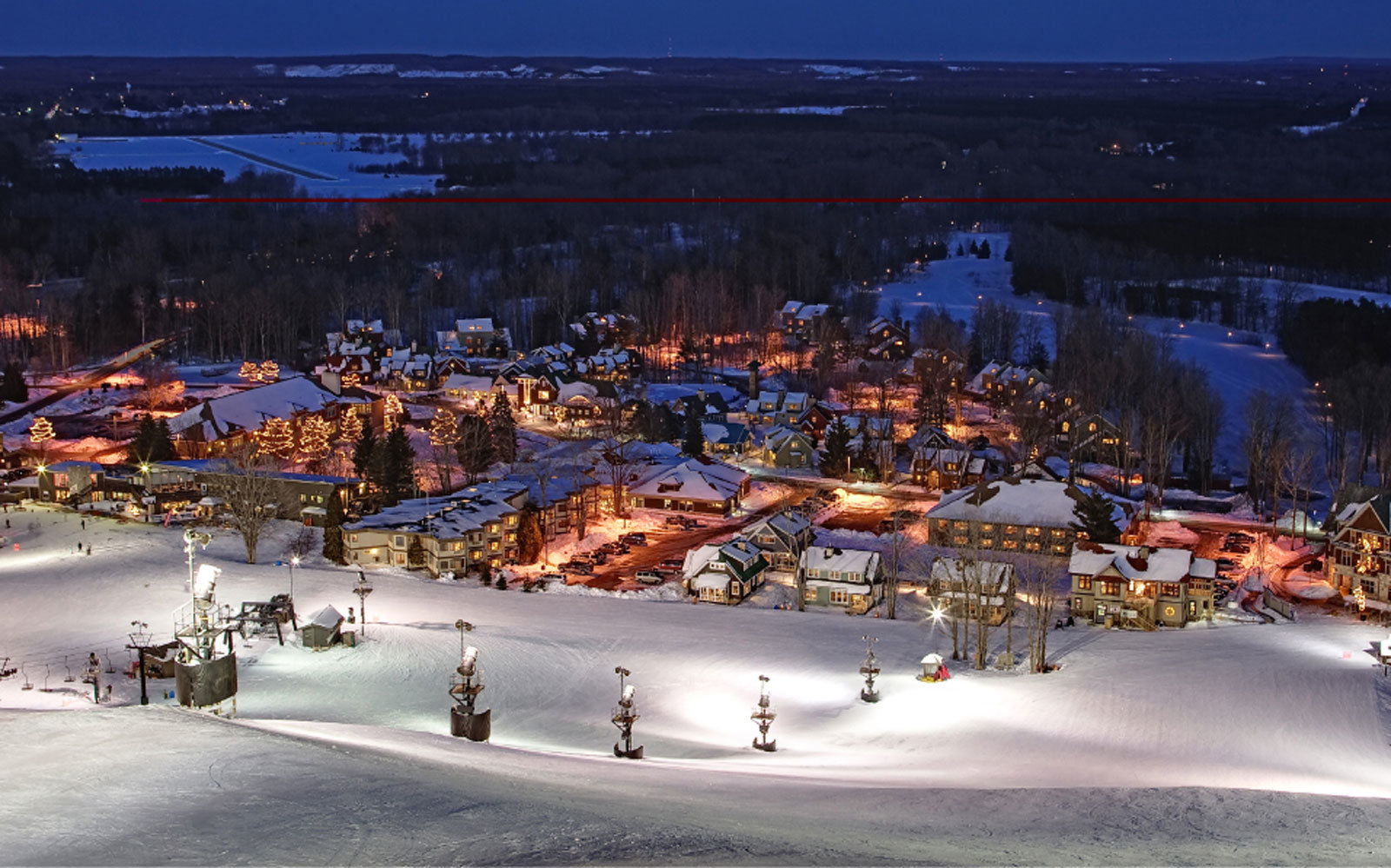 2. Crystal Mountain,  Michigan
