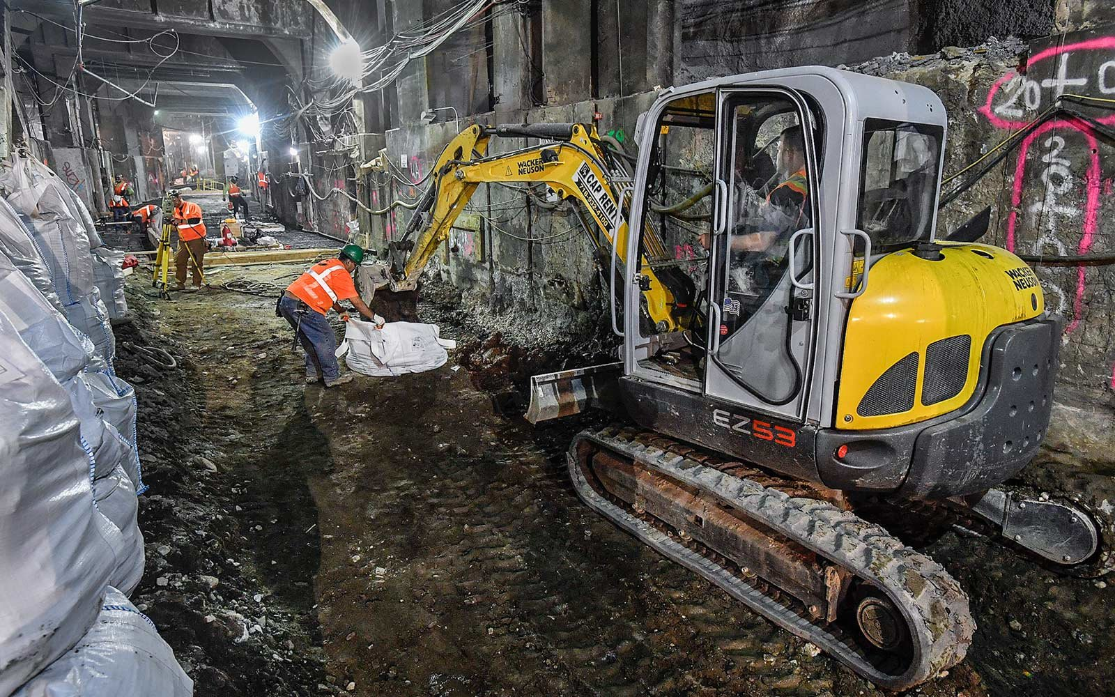 Second Avenue Subway, New York City, Construction