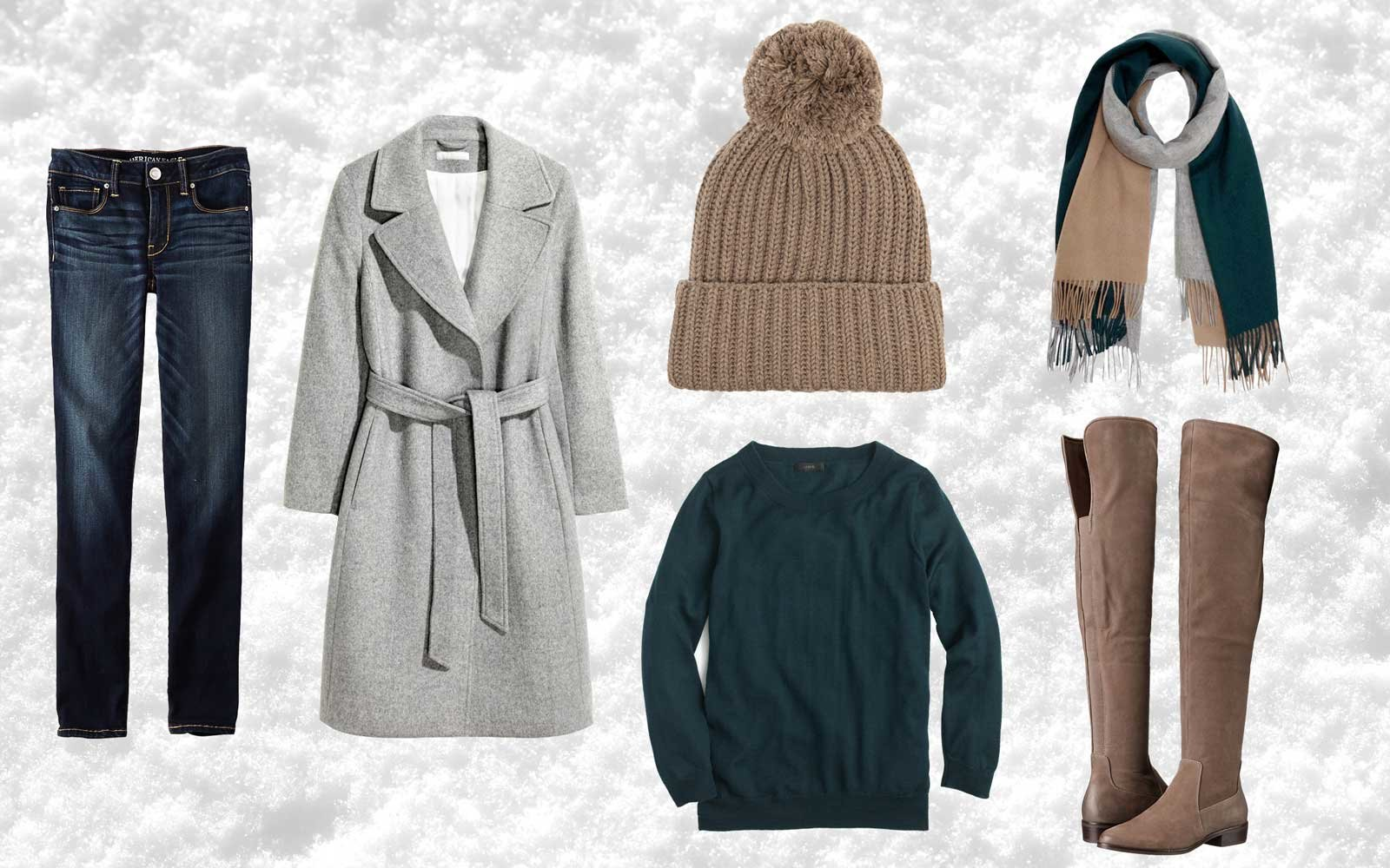 Stylish Winter Travel Outfits  f3aa419b6