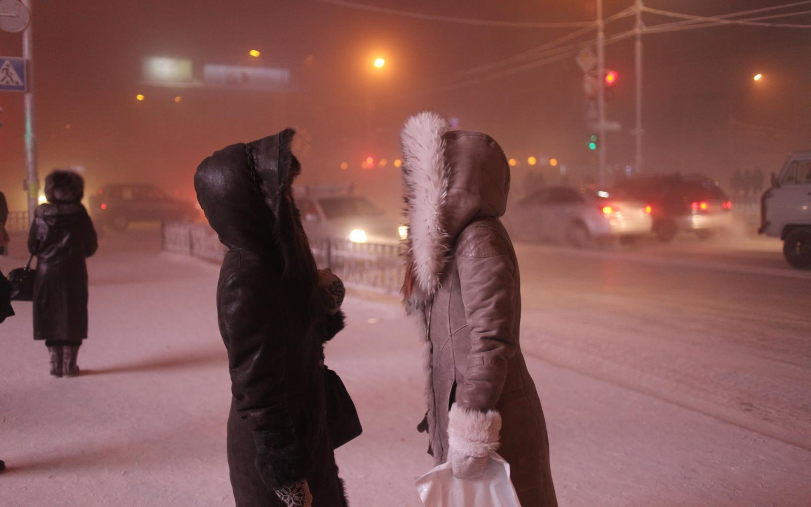 21 amazing photos that show what life is like in the coldest inhabited town on Earth