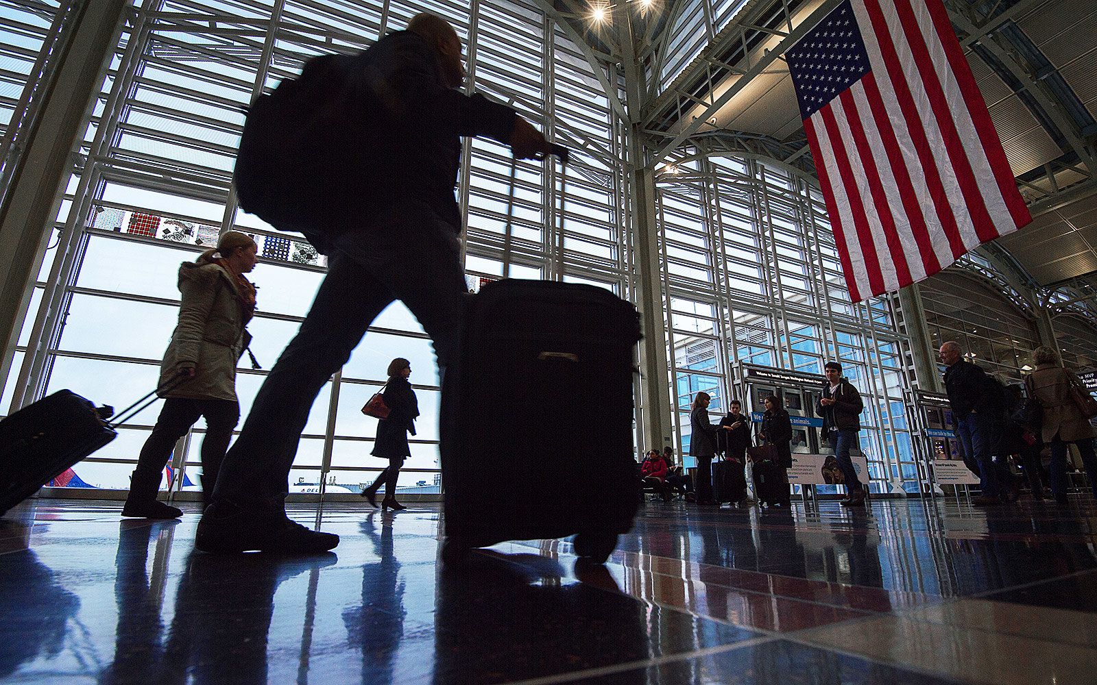 Americans are traveling more