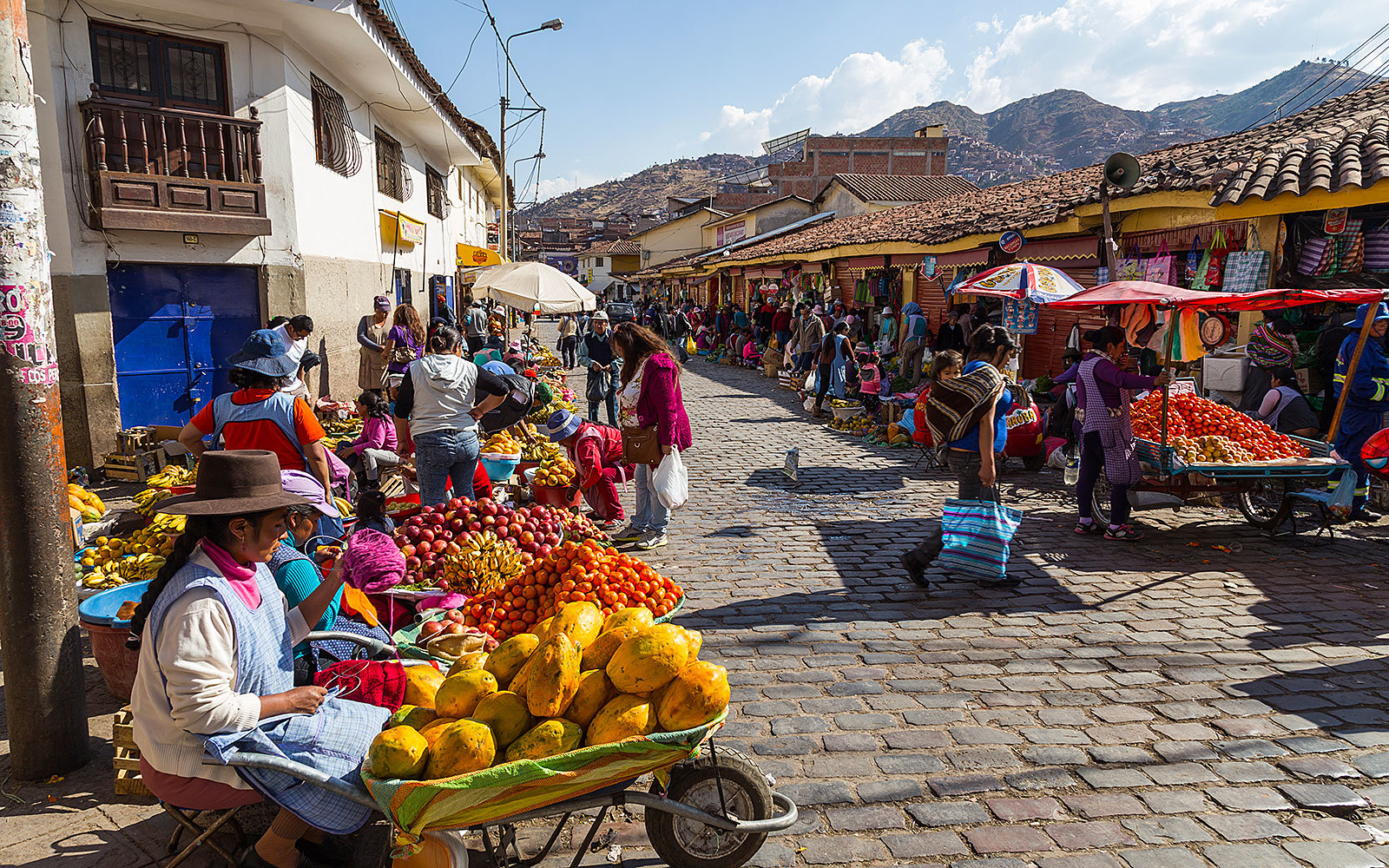 Take a food tour in Peru