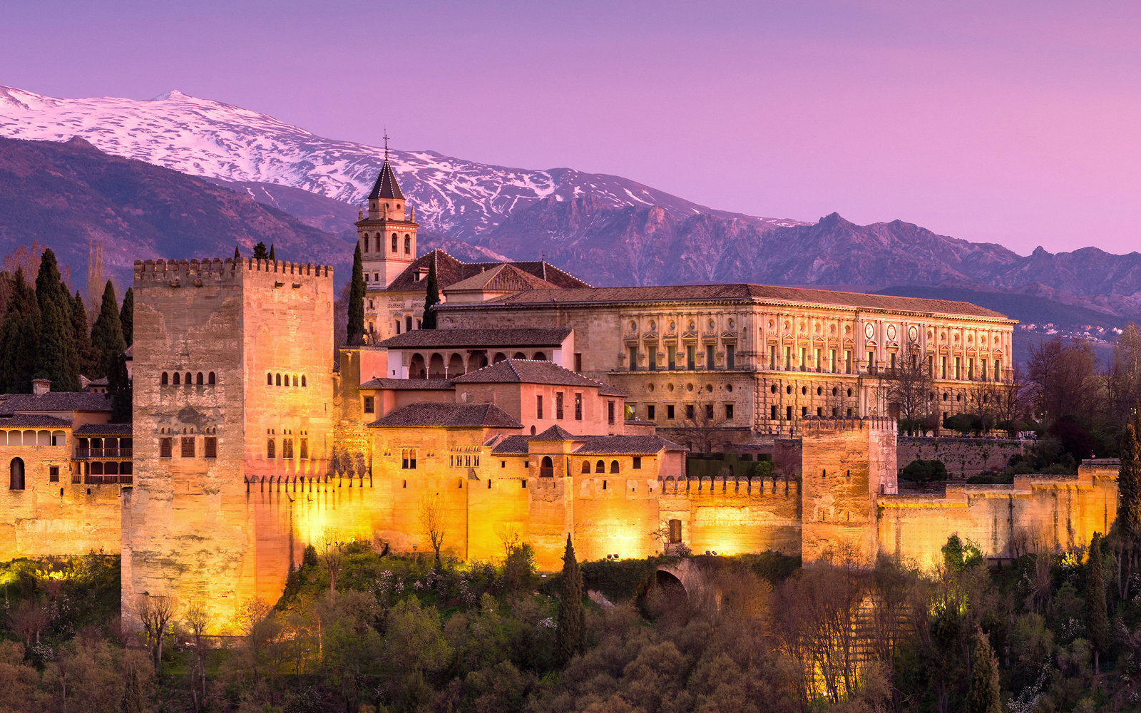 Secrets Of The Alhambra Travel Leisure