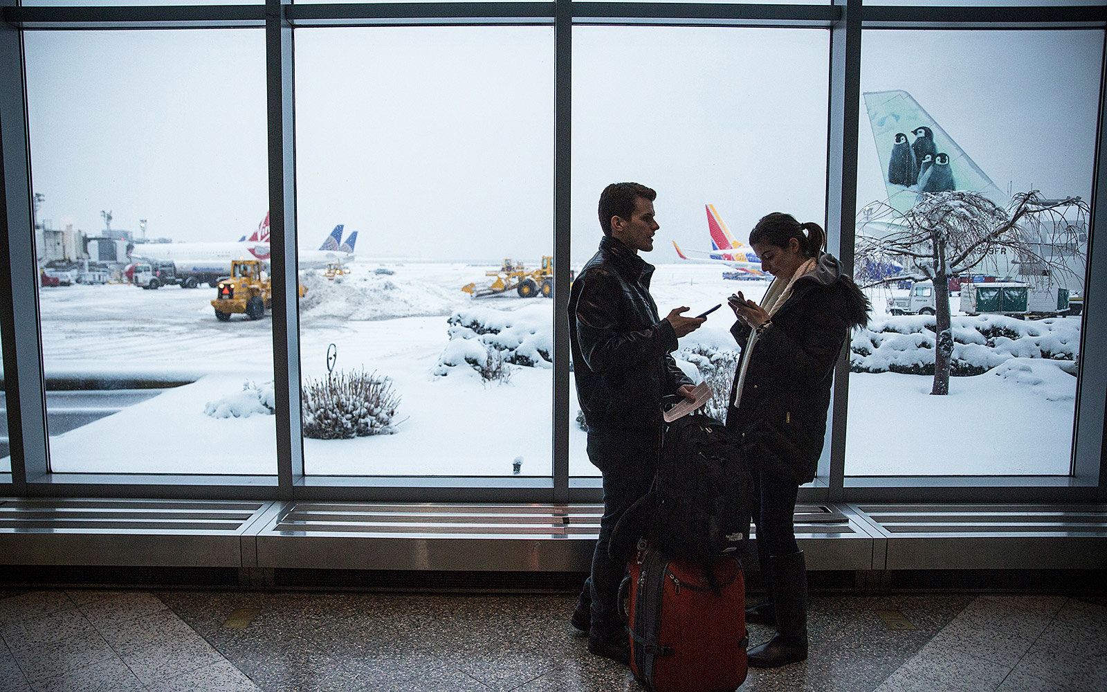 Airline waivers because of storm